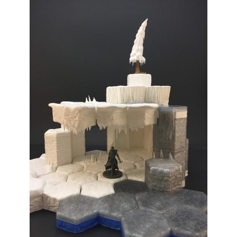 photograph regarding Printable Terrain referred to as Ice Cave Preset