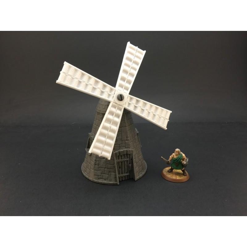 image regarding Printable Terrain called Windmill