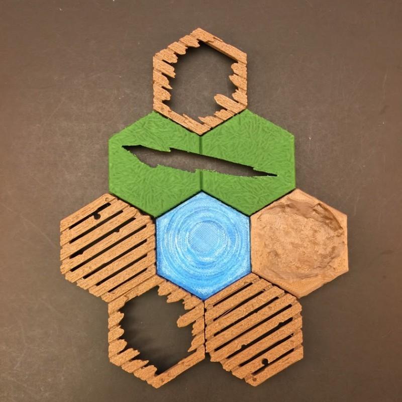 Hex Terrain Tiles