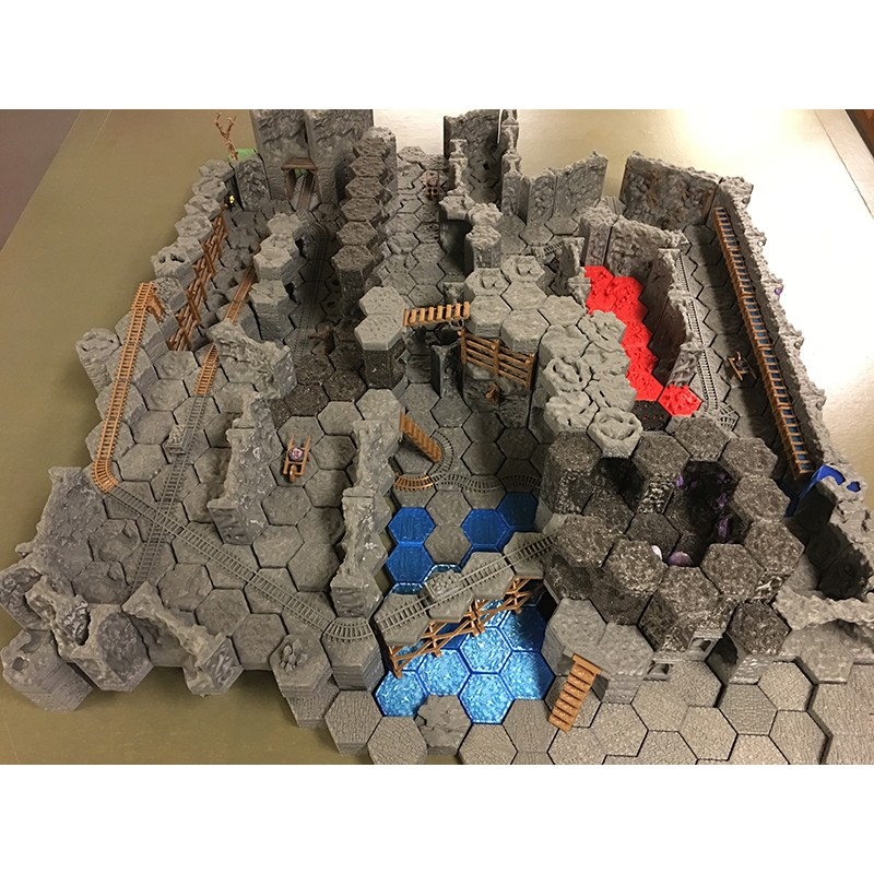 It's just a graphic of Printable Terrain in castle